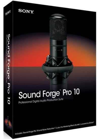 Sony Sound Forge Pro 10.0e Build 507 Rus RePack by KpoJIuK