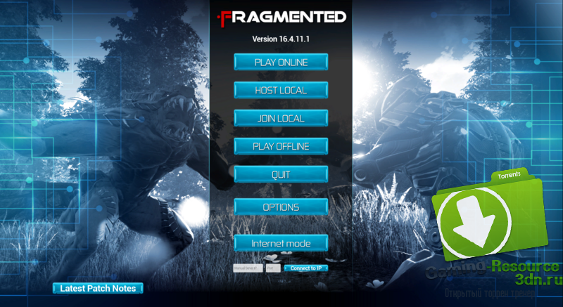 Fragmented Build 16.4.11 (ENG) Repack от SKIDROW