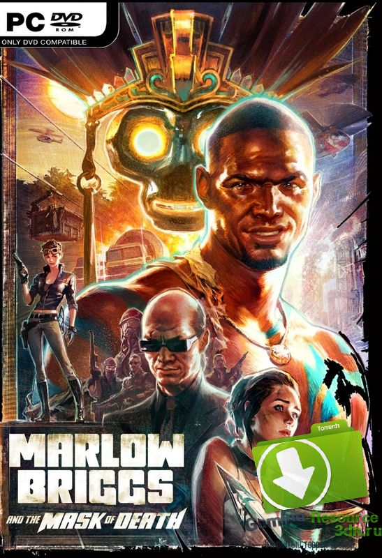 Marlow Briggs and The Mask of Death (2013) (ENG / MULTi5) [L] - *PROPHET*