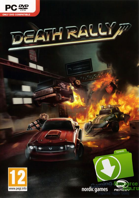 Death Rally (ENG / RUS) [Repack] от R.G. Origami