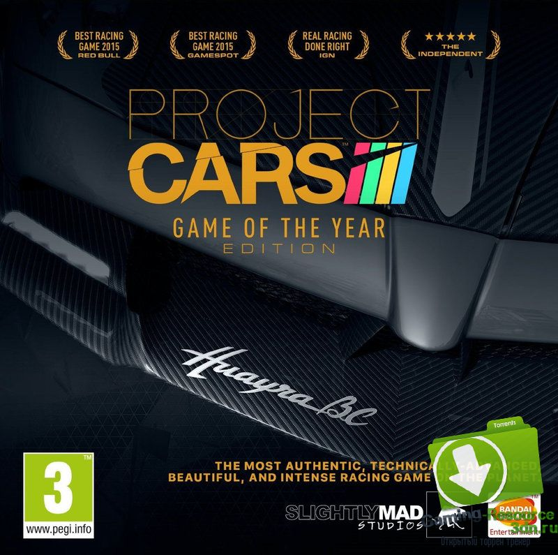 Project CARS: Game Of The Year Edition (ENG / RUS) [Repack] от R.G. Catalyst