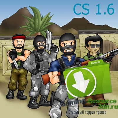 Counter-Strike 1.6 Dnet v10.0 (2016/PC/RUS)