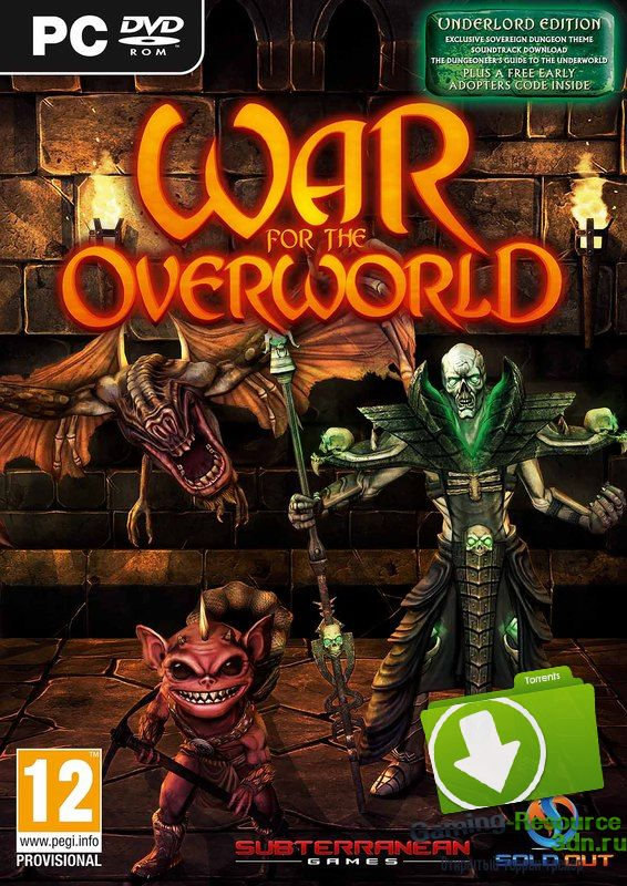 War For The Overworld (ENG / RUS) [Repack] от R.G. Механики