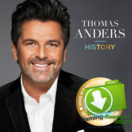 Thomas Anders - History (Deluxe Edition) (2016) MP3
