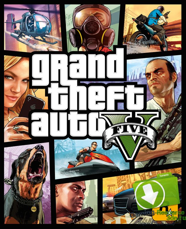 Grand Theft Auto V (ENG/ RUS) [Repack] от xatab