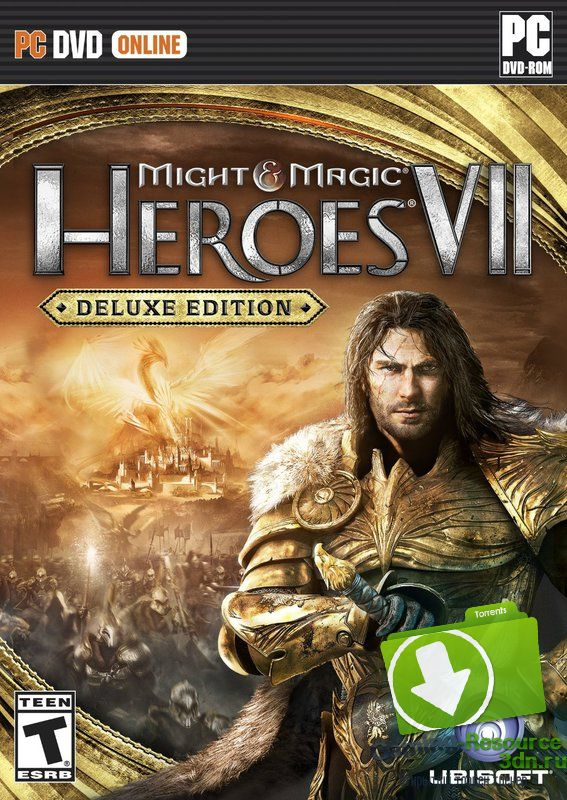 Герои меча и магии 7 / Might and Magic Heroes VII: Deluxe Edition [v 1.80 (build 37786)] [RUS / RUS] (2015) | RePack от FitGirl