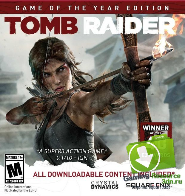 Tomb Raider. Game of the Year Edition (2013) [RUS/ENG|MULTi13] - z10yded