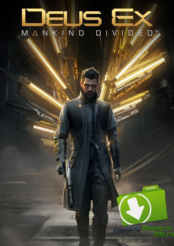 [NOT CRACKED] Deus Ex: Mankind Divided - Digital Deluxe Edition (Square Enix) (RUS|ENG|MULTi6) [Steam-Rip] by Fisher
