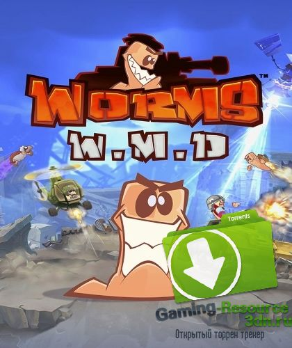 Worms W.M.D (Team17 Digital) (RUS/ENG/MULTi8) от GOG [DRM Free] + All Stars DLC