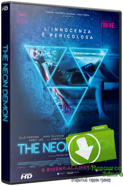 Неоновый демон / The Neon Demon (2016) WEB-DLRip 720р