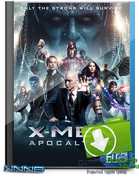 Люди Икс: Апокалипсис / X-Men: Apocalypse (2016) BDRip 720p