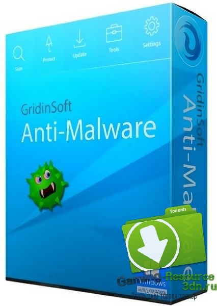 Gridinsoft Anti-Malware 3.0.58 (ML/RUS) RePack & Portable