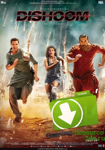 Выстрел / Dishoom (2016) DVDRip