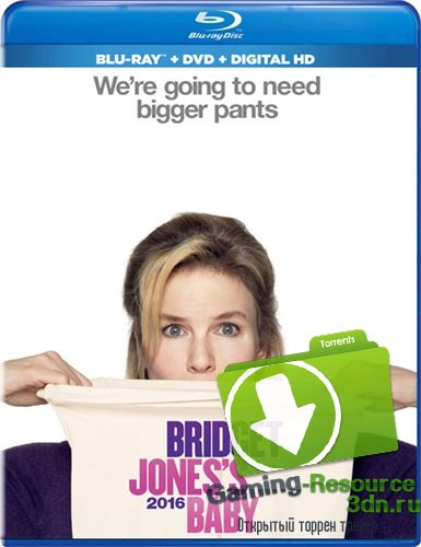 Бриджит Джонс 3 / Bridget Jones's Baby (2016) WEB-DLRip