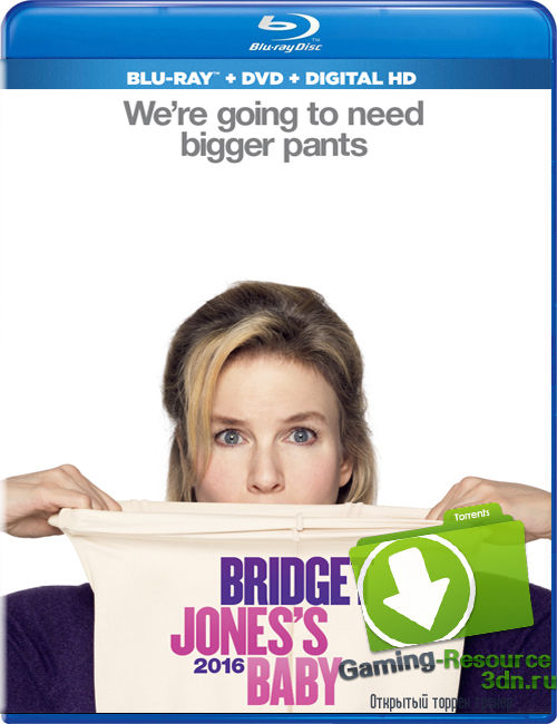Бриджит Джонс 3 / Bridget Jones's Baby (2016) WEB-DL 1080p