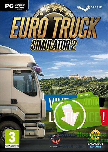Euro truck simulator 2 v 1. 30. 1. 6s + 56 dlc (2013) pc | repack от.