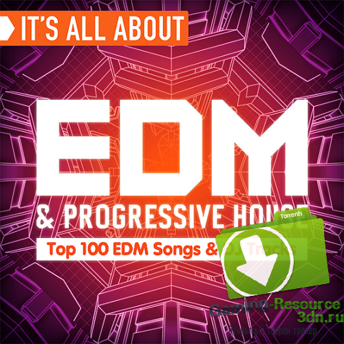 VA - Top 100 EDM Songs and DJ Tracks December 2016 (2017) MP3