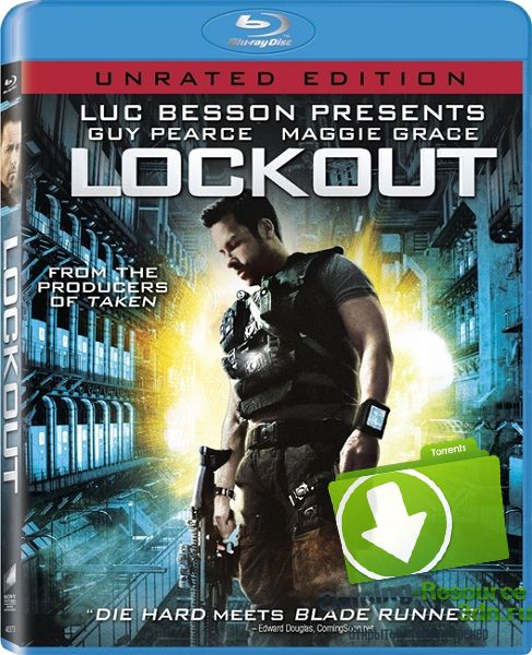 Напролом / Lockout (2012) BDRip 1080p (Расширенная версия)