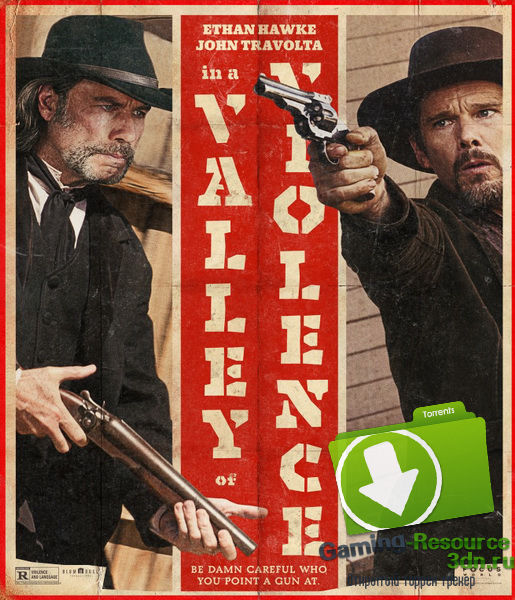 В долине насилия / In a Valley of Violence (2016) WEB-DLRip