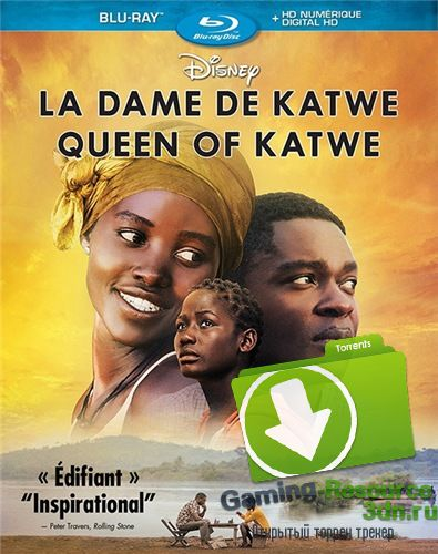 Королева Катве / Queen of Katwe (2016) BDRip