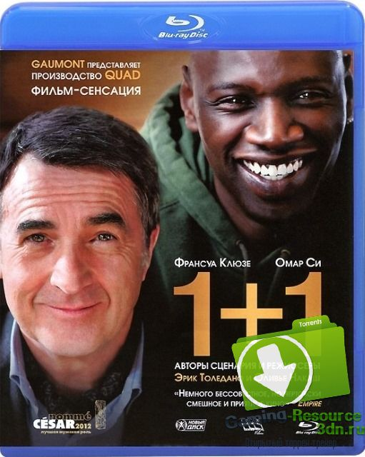 1+1 / Intouchables (2011) BDRip-AVC