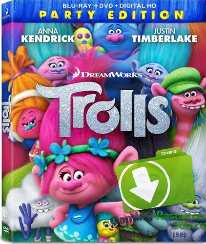Тролли / Trolls (2016) BDRip