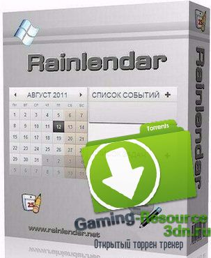 Rainlendar Pro 2.13.1 Build 147 Final RePack by вовава