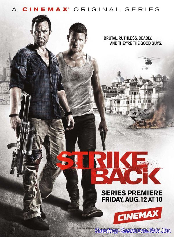 Ответный удар / Strike back [S01 - S04] (2010 - 2013) BDRip 720p, HDTV 720p