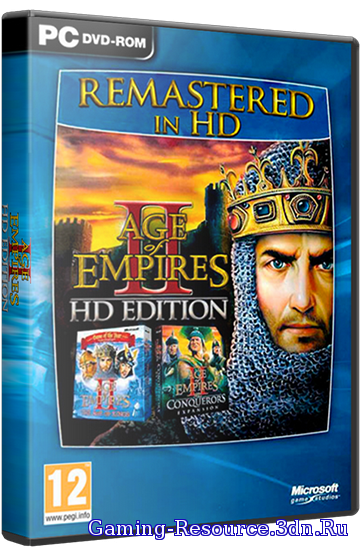 Age of Empires 2: HD Edition [v 3.8] (2013) PC | Лицензия