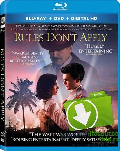 Вне правил / Rules Don't Apply (2016) BDRip