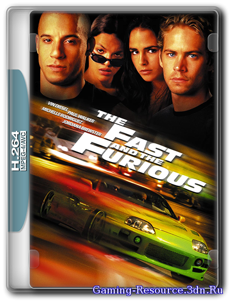 Форсаж / The Fast and the Furious (2001) BDRip 720p