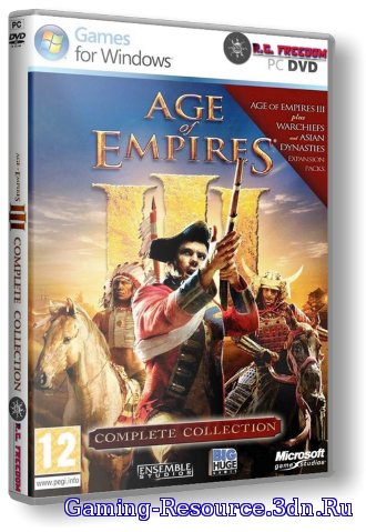 Age of Empires 3 - Complete Collection (2005-2007) PC