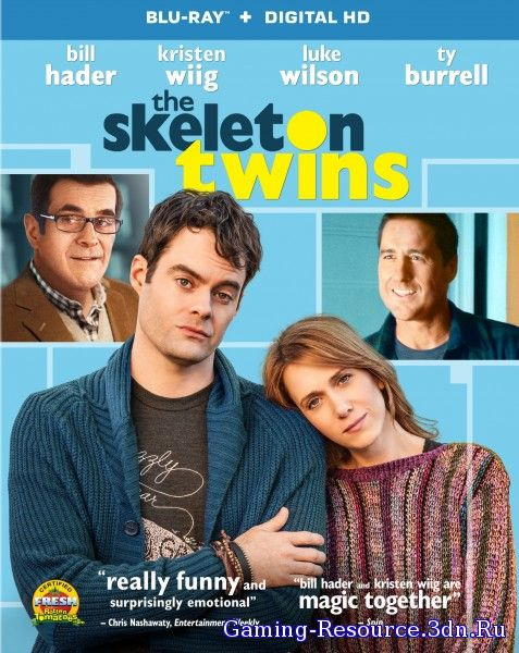 Близнецы / The Skeleton Twins (2014) HDRip