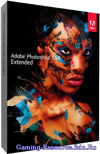 Adobe Photoshop CS6 Extended 13.0.1.3 [Upd. 04.06.14] (2013) РС | RePack by JFK2005