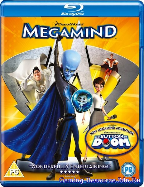 Мегамозг / Megamind (2010) BDRip 1080p