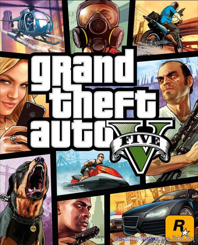 Grand Theft Auto 5 (Rockstar Games) [RUS / ENG/ MULTi9] [RETAIL]