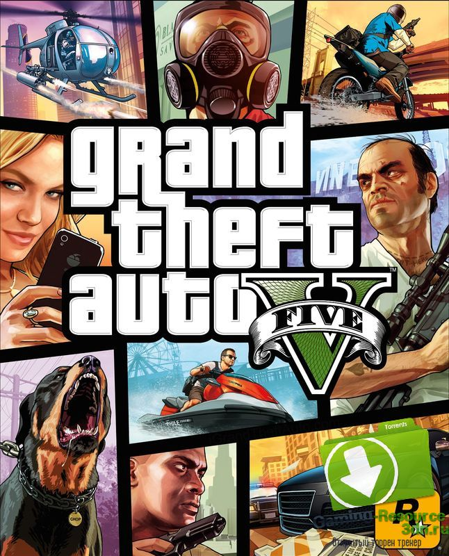 Grand Theft Auto 5 (Rockstar Games) [RUS / ENG/ MULTi9] [RETAIL] + Crack Only (3DM v2)