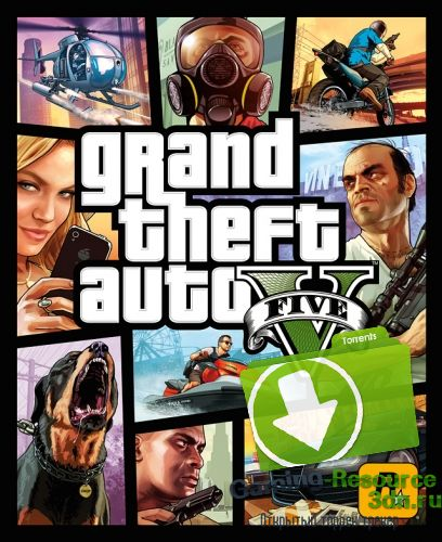GTA 5 / Grand Theft Auto V [1.0.335.2 / Update 3] (2015) PC [RePack] от Salat-Production