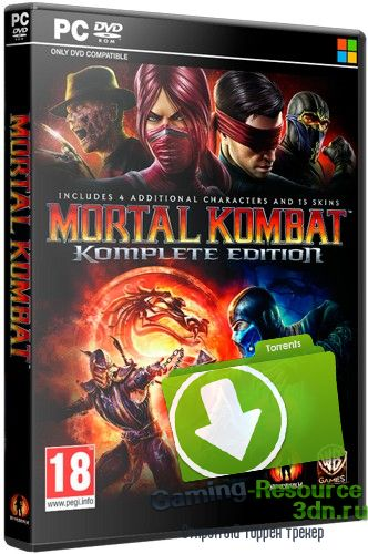 Mortal Kombat Komplete Edition [Update 2] (2013) PC | Steam-Rip от Let'sPlay