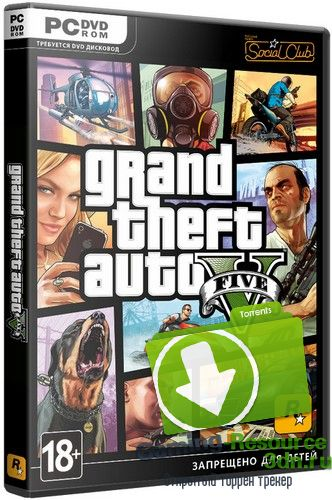 GTA 5 / Grand Theft Auto V [Update 5] (2015) PC | RePack от R.G. Games