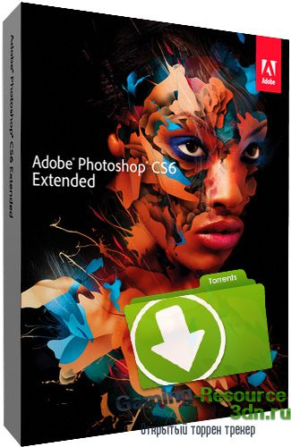 Adobe Photoshop CS6 Extended 13.0.1.3 [Upd. 04.06.14] (2013) РС
