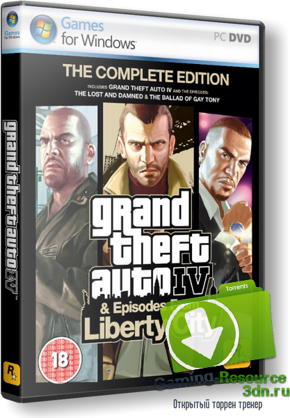 [EN] Grand Theft Auto IV Complete Edition (Take 2 Interactive) [L]