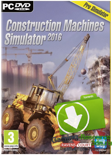 Construction Machines Simulator 2016 (2015) (Eng & Rus) | RePack by Liaman