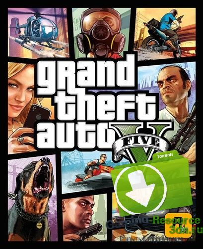 Grand Theft Auto V / GTA 5 (Rockstar Games) (RUS/ENG/MULTI11) [Repack]