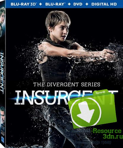 Дивергент, глава 2: Инсургент / Insurgent (2015) BDRip 720p