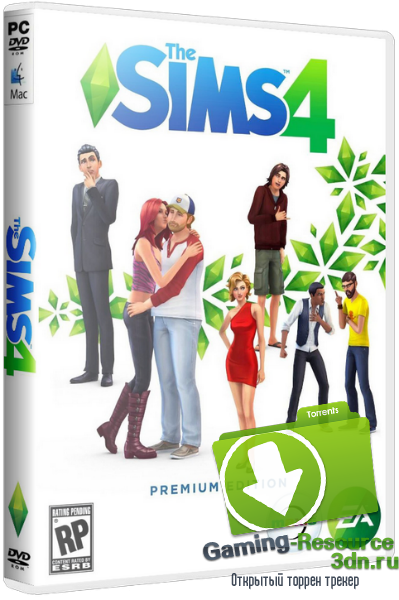 The Sims 4: Deluxe Edition [v 1.10.57.1020] (2014) PC | RePack от xatab