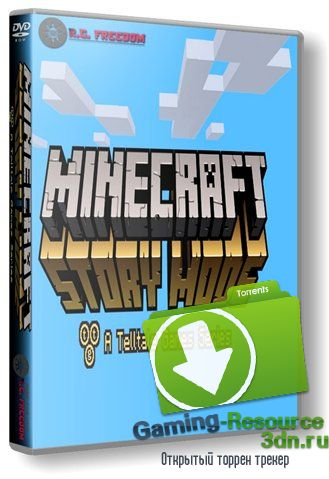 Minecraft: Story Mode - A Telltale Games Series. Episode 1 (2015) PC | RePack от R.G. Freedom