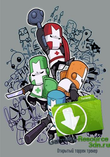 Castle Crashers [v2.0] (2012) (Eng\Rus) | Steam-Rip от Let'sРlay
