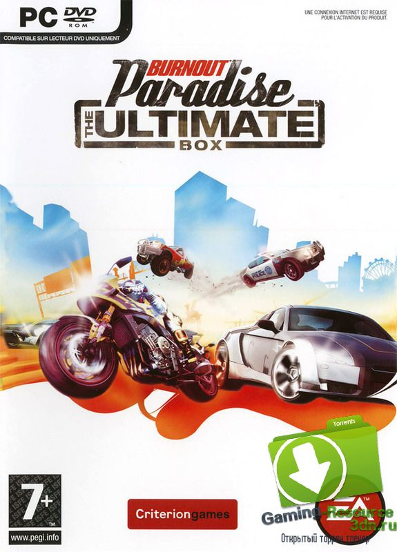 Burnout Paradise The Ultimate Box (2009) PC | RePack
