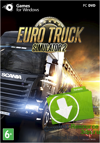 Euro Truck Simulator 2 [v 1.21.1s + 28 DLC] (2013) PC | Steam-Rip от R.G. Origins